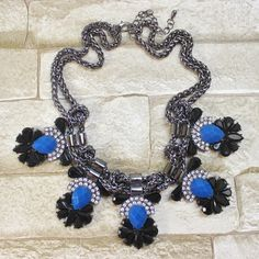 Palermo Necklace Blue $38.85