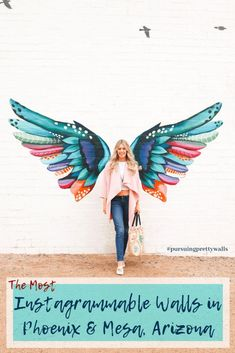 Use This Travel Information To Help Plan Your Trip Angel Wings Art, Instagram Wand, Instagram Worthy, Murals Street Art, Foto 3d, Frida Art, Arizona Travel, Mural Wall Art, Sgraffito