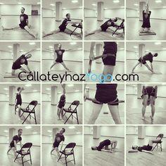 ¿Que hacemos con un cinturón para mejorar la serie de  #yoga de la semana? https://callateyhazyoga.com/blog/serie-de-yoga-de-la-semana-3-asanas-de-pie-y-1-cinturon/