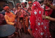 Incredible images of riotous colour from the Holi festival in India via the Guardian.