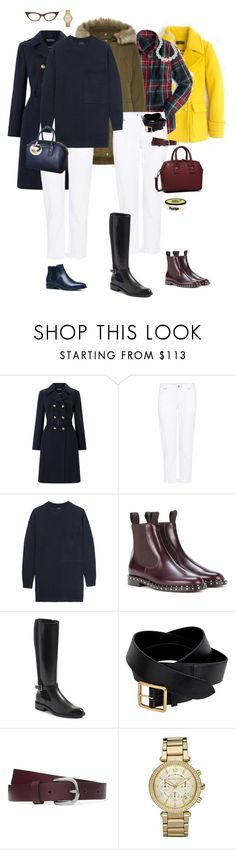 """""""Ensemble: Simple White Jeans in Winter"""" by youlookfab ❤ liked on Polyvore featuring J.Crew, Miss Selfridge, Vero Moda, Citizens of Humanity, Joseph, Valentino, Furla, Aquatalia by Marvin K., Alexander McQueen and Isabel Marant"""