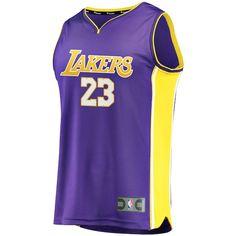f281c6ef9b9 Lebron James Youth Purple Lakers Jersey XS