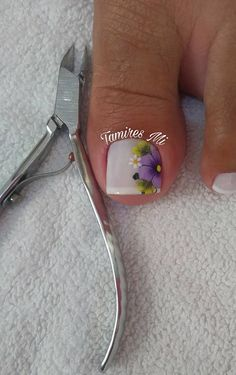 Pedicure Nail Art, Toe Nail Art, Manicure, Cute Toe Nails, Cute Toes, One Stroke Nails, Floral Nail Art, Toe Nail Designs, Hair And Nails