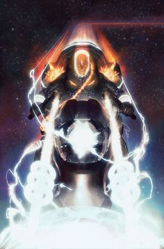 Cosmic Ghost Rider by Gerald Parel * Cosplay Characters, Comic Book Characters, Marvel Characters, Comic Books Art, Comic Art, Cosmic Comics, Marvel Comics Art, Marvel Vs, Marvel Heroes