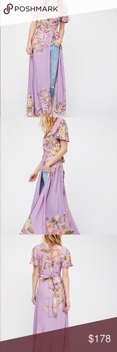 Free People Side Slit Maxi Brand new with tags Maxi by Free People. Free People Dresses Maxi