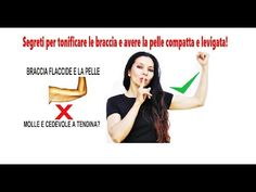 COME RASSODARE LE BRACCIA ! Addio braccia flaccide ! - YouTube Fitness, Sport, Youtube, Movie Posters, Diet, Deporte, Film Poster, Excercise, Popcorn Posters