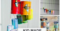 20+ totally awesome wind chimes that kids can make this Spring! (WIND CHIME CRAFTS FOR KIDS)