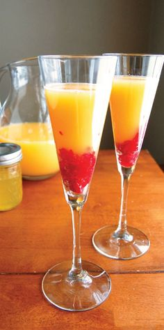 Sunrise Mimosa Recipe   This is the new Bed Tea   Get Ingredients at Ice Cube #Chandigarh