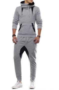 Hoodie Outfit, Sweatpants Outfit, Dance Fashion, Fashion Wear, Women's Fashion Dresses, Long Jacket Dresses, Track Suit Men, Gym Style, Moda Fitness