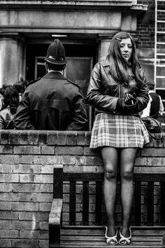 General Post Office Strike, London, 1971, Jane Bown.
