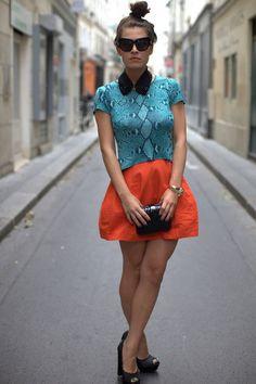 Snake+Colour+Block+|+Women's+Look+|+ASOS+Fashion+Finder