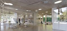 Biblioteca Pública e Administração Municipal – Spiez – Suiça | concursosdeprojeto.org