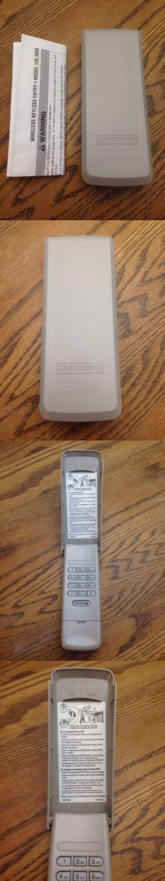 Lovely Craftsman Wireless Keyless Entry Pad