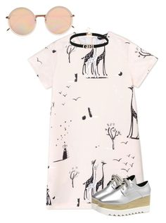"""""""School 🙄"""" by h3llo6 on Polyvore featuring Rochas and Linda Farrow"""