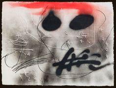 """Antoni Tàpies """"Cap"""" Grabado al Aguafuerte con Relieve Año: 1987 Dimensiones: 98.5 x 132.5 cm Tirada de 99 ejemplares Firmado y numerado PA a mano Enmarcado Galfetti 1120 Precio: Consultar Web Web: www.grabadosylitografias.com Más información y consultas: galeria@grabadosylitografias.com"""