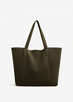 Sac shopper cuir