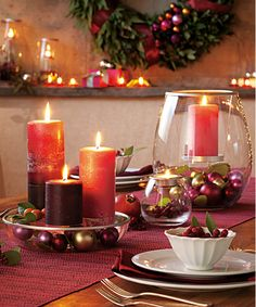 PartyLite candles and home decor