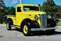 1938 Chevrolet Pickup: OK so not really a hot rod I suppose but nevertheless what a beautiful restoration job. Wow!