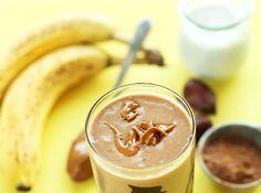 Step By Step Making Of Chocolate Peanut Shake Recipe