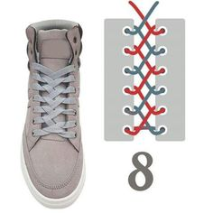 21 Ideas For Diy Clothes Lace Ideas Ways To Lace Shoes, How To Tie Shoes, Your Shoes, Diy Fashion, Ideias Fashion, Fashion Shoes, Mens Fashion, Basket Originale, Creative Shoes