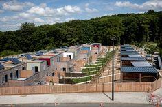 Philippe Madec -14 maisons locatives QE et passif -Quartier Henri Dunant- Le Havre