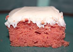 My own recipe creation for a gluten free strawberry cake! It's very moist and easy to make! :)