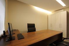 Sala de diretoria na Sede da Rokrisa Engenharia em Curitiba - PR