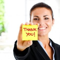 "In a recent survey of employers by CareerBuilder, 20% of hiring managers said they are more likely to hire a candidate whose interview is followed up by a ""Thank You' letter."