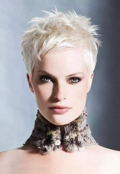 Some people might say that white or platinum blonde hair color is included as old fashioned hair color. Description from frutafashion.com. I searched for this on bing.com/images