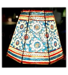 Multicoloured leather lampshade ethnic lamps pinterest lights lampshade blue floral mozeypictures Image collections