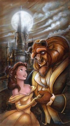 Beauty & the Beast : ? The Beauty & the Beast ? The post Disney Magic, Disney Amor, Film Disney, Disney Movies, Disney Couples, Disney Villains, Disney Characters, Disney Princess Belle, Princesses Disney Belle