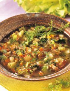 Zuppa di scarola e cime di finocchio - Tutte le ricette dalla A alla Z - Cucina Naturale - Ricette, Menu, Diete
