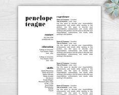 Resume Template Gloria DelgadoPritchett Pink Version Cover