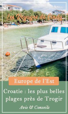 Croatie : Les plus belles plages près de Trogir #plage #voyage #itineraire