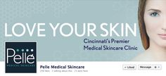 Facebook Cover Photo design for Pelle Medical Skincare