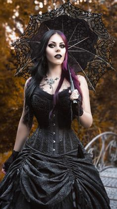 Hot Goth Girls, Gothic Models, Gothic Dress, Victorian Gothic, Gothic Beauty, Witches, Cyber, Clothes, Beautiful
