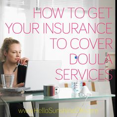 Get reimbursed for hiring a doula!