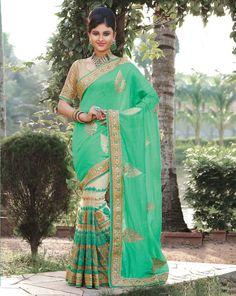 Bollywood Indian Wedding Saree Pakistani Ethnic Traditional Designer Sari 6500…