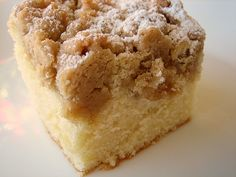 New York-Style Crumb Cake – Crumb cake is an essential component in any baker's arsenal. This one is amazing. Love all those crumbs!