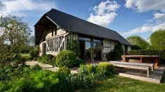 Voici uen agréable maison à Bonnebosq en Normandie, France #travel #vacances