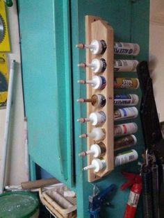 Versiegelung Und Abdichten Rohre-Werkzeug-Speicher-Ideen Aus Pvc-Rohr Und Holz