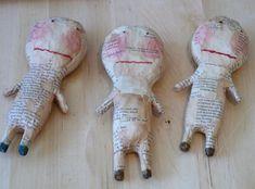Julie Arkell's papier mache dolls