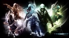 all assassin's creed crests   Assassins Creed Wallpaper All Assassins With Edwardsymphony Of Time ...