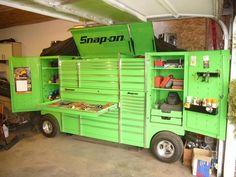 Garage Tool Storage, Garage Tools, Garage Workshop, Workshop Storage, Mechanic Tool Box, Truck Tool Box, Garage House, Dream Garage, Garage Shop