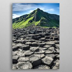 "Beautiful ""The Giant's Causeway is an"" metal poster created by Svetlana Sewell. Our Displate metal prints will make your walls awesome. Artwork Prints, Cool Artwork, Poster Prints, Visit Northern Ireland, Irish Rock, Houses Of The Holy, Print Artist, Where To Go, Artworks"
