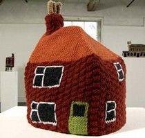 Knitted Homes of Crime - Freddie Robins
