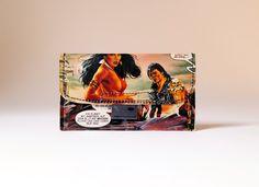 Tobacco pouch VAMPIRELLA comic upcyclin unique piece from PauwPauw on Etsy