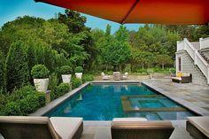 Imprints Landscape Architecture -hot tub stone?