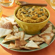 Pumpkin Hummus | CookingLight.com