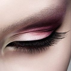 Gold and pink makeup - something like this with each girls color? If it doesn't get to circus-y...